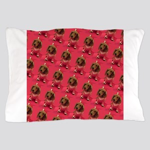 Pink Arizona Dachshund Mirage for Jen Pillow Case